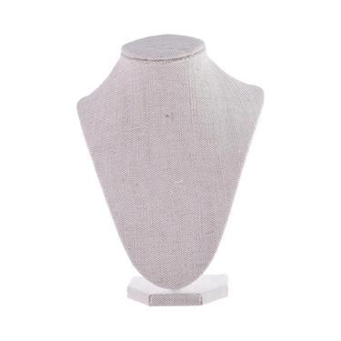 SPOTLIGHT Crafters Choice 3D Fabric Jewellery Stand Linen 23 cm