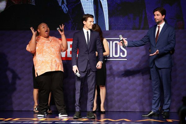 Tom Holland Photos - Director Jon Watts, Tom Holland and Jacob Batalon attend the 'Spider-Man: Homecoming' Seoul Premiere at Yeongdeunpo Times Square on July 2, 2017 in Seoul, South Korea. - 'Spider-Man: Homecoming' Seoul Premiere