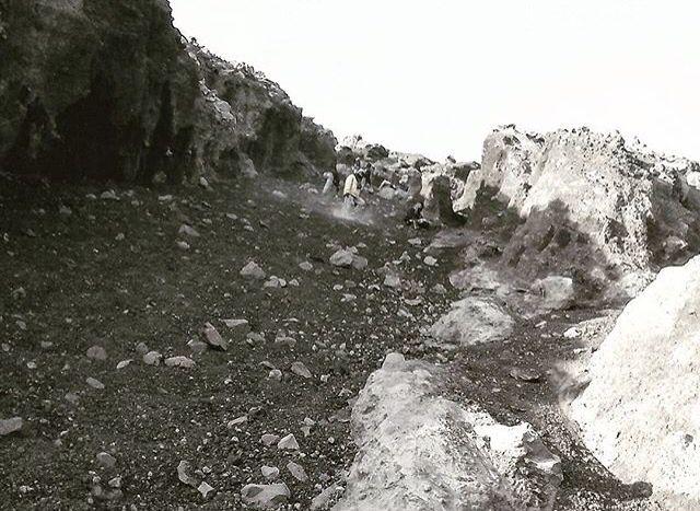 Summit atrack Mahameru mountain