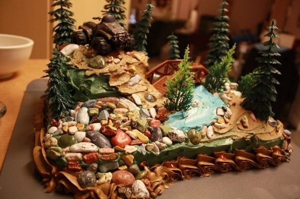 1000 Ideas About 4 Wheeler Cake On Pinterest Motocross