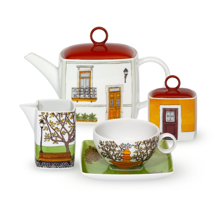 ALMA DE LISBOA design by Beatriz Lamanna – Tea Set