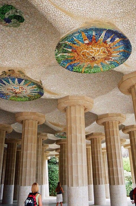 Gaudi - Parque Güell en Barcelona