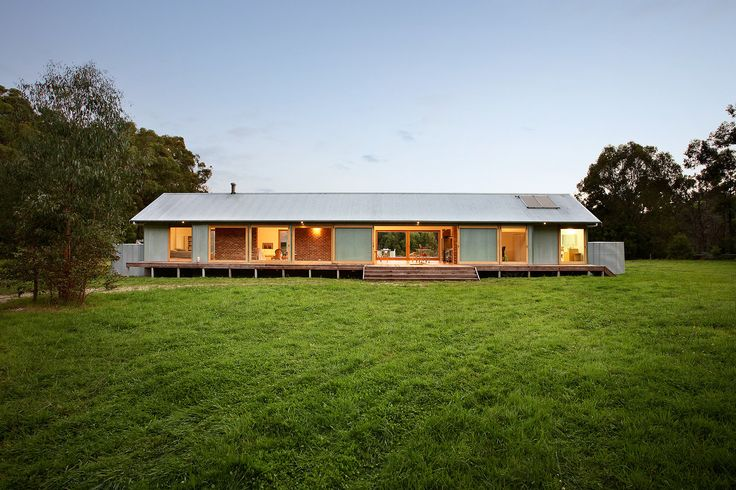 Tonimbuk Award Winning Holiday Home, Thermal Heat Bank Walls