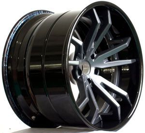 Deep Concave 3 Piece Forged Aluminum Wheel LG3-084