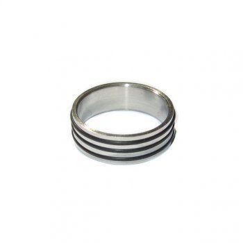 Ανδρικό δαχτυλίδι με 3 μαύρες ρίγες - Είδη σπιτιού και χειροποίητες δημιουργίες | Σοφία #ανδρικά #δαχτυλιδια #κοσμηματα #andrika #daxtylidia #kosmhmata