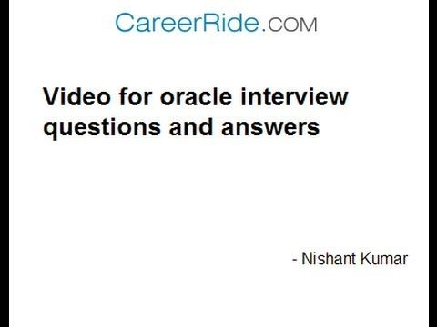oracle interview questions and answers pdf