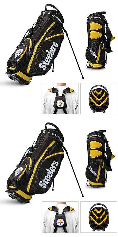 Golf Club Bags 30109: Licensed Nfl Pittsburgh Steelers Team Golf Stand Bag -> BUY IT NOW ONLY: $148.95 on eBay!