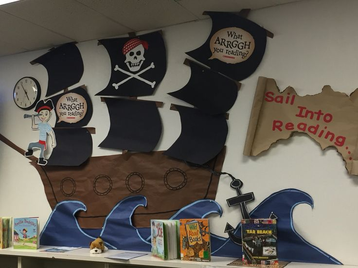 Book Fair Pirate Theme Ideas                              …