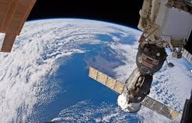 EL PASADO: imagen de la estación espacial MIR