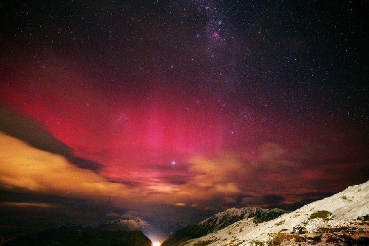 Aurora Australis - Queenstown, New Zealand