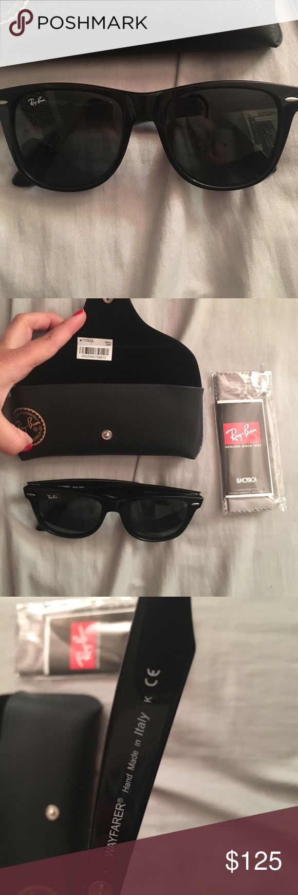 Ray ban wayfarer Brand new never used I believe it's the big size Ray-Ban Accessories Glasses