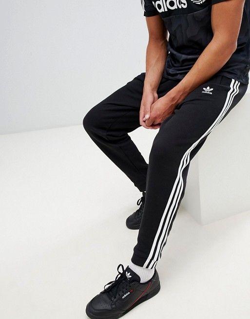 c3ecba0c9 adidas Originals | adidas Originals adicolor 3-Stripe Joggers In Black  CW2981