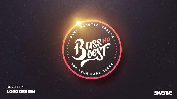 Photoshop & Illustrator speedart: Bass Boost Logo design by Swerve™