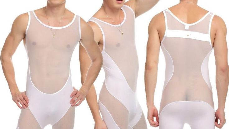 Spice Things Up With Men's Sheer Underwear