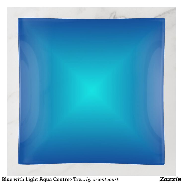 Blue with Light Aqua Centre> Trendy Trinket Trays