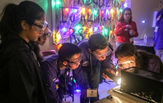 """Nathan and the purple team discovered background radiation in a """"Stranger Things"""" themed challenge."""