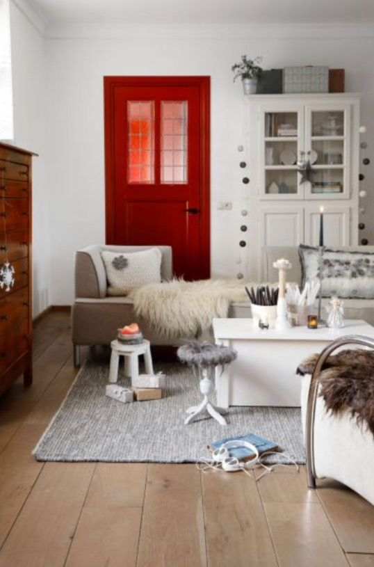 """This nice living room is from our feature """"Sparks & Perks"""""""