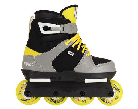 Valo TV.2 Roll Powerblade Skate (Loco Valo)... special custom Valo powerblades! Sick :)