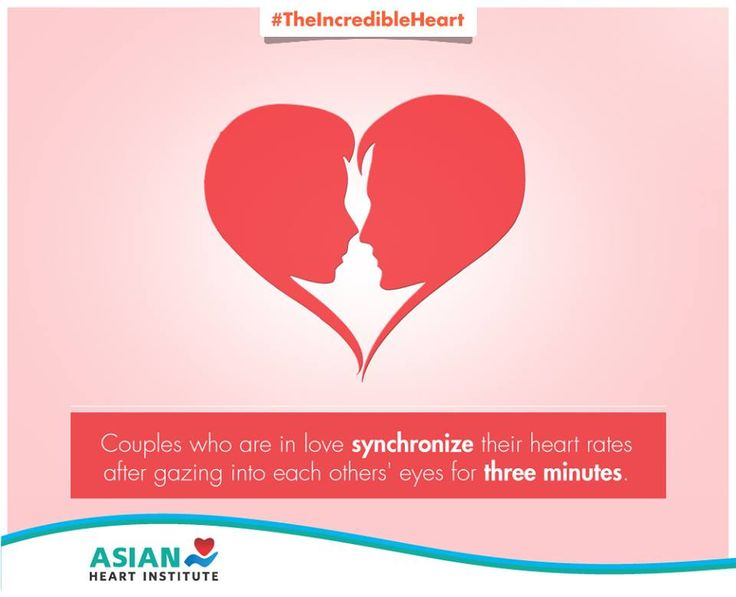 If you are in love, two hearts really do beat as one! :)  #TheIncredibleHeart #AsianHeartInstitute
