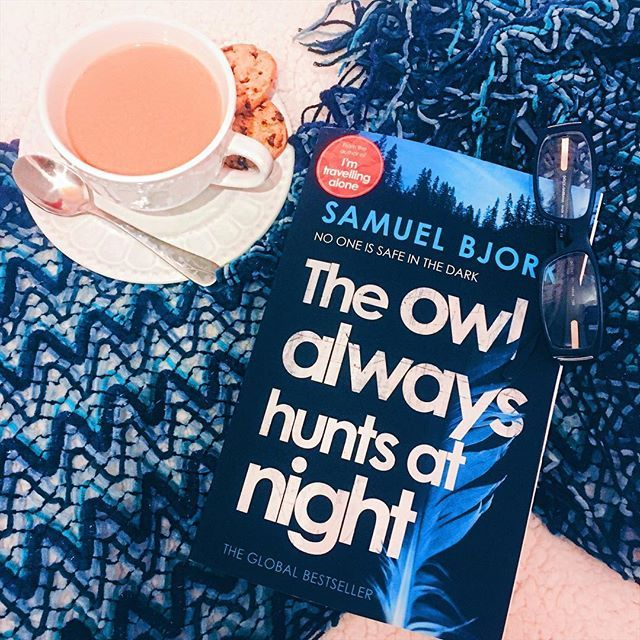 Thank you to @Beckyh1712 for this!!! I have the Birthday blues right now (can you tell how blueish this photo looks?? I know right!!) and whats a good cure?? A book I tell you! Sometimes I wish life problems were really as simple as that. Also who has a