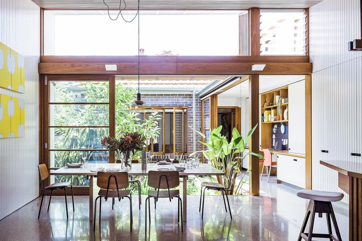 Take a tour of this small yet stunning house in Sydney, complete with internal courtyard, designed by an architect couple looking to downsize.