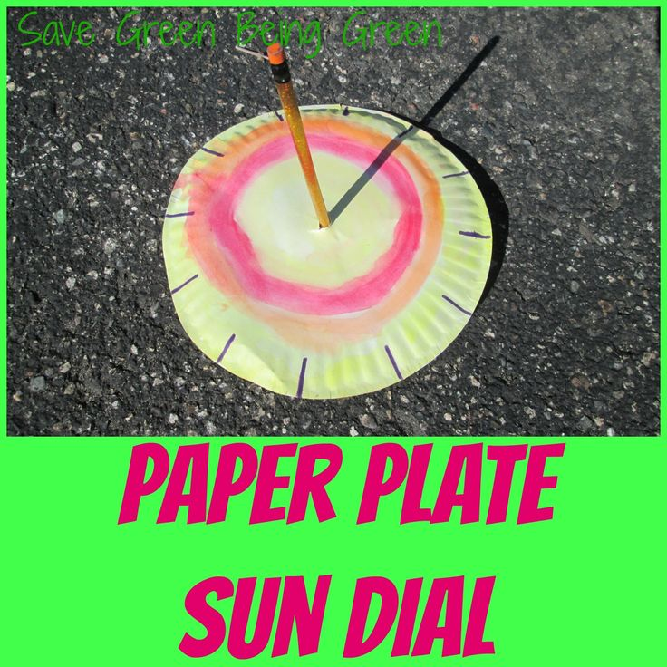 Paper Plate Sun Dial - easy craft project for kids might be fun to do  sc 1 st  Pinterest & 27 best Paper Plate Crafts images on Pinterest | Paper plates Paper ...