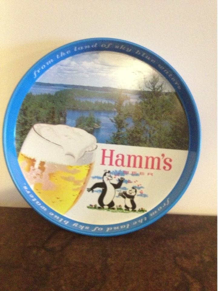 Hamm S Beer Tray Beer Pinterest Beer And Trays