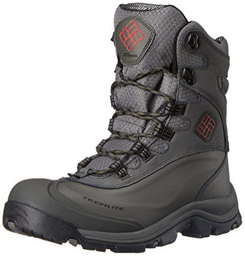 Columbia Men's Bugaboot Plus III Omni Cold Weather Boot, Charcoal/Bright Red, 8.5 D US - http://authenticboots.com/columbia-mens-bugaboot-plus-iii-omni-cold-weather-boot-charcoalbright-red-8-5-d-us/