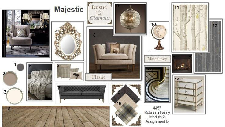 Pinterest Home Decor 2014: National Design Academy Module 2 Trends 2014 #mood-board