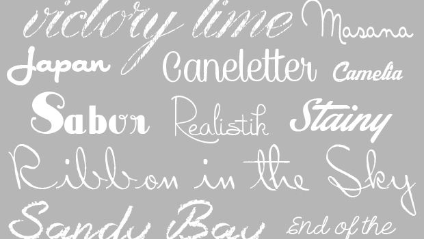 Today I've collected 20 beautiful cursive fonts for you. These would be great for dozens of diy projects that need a little extra flair: invitations, announcements, printables and more. You can also check out more RJC font collections and find more great resources for your home project needs. Have a favorite cursive font? Did you …