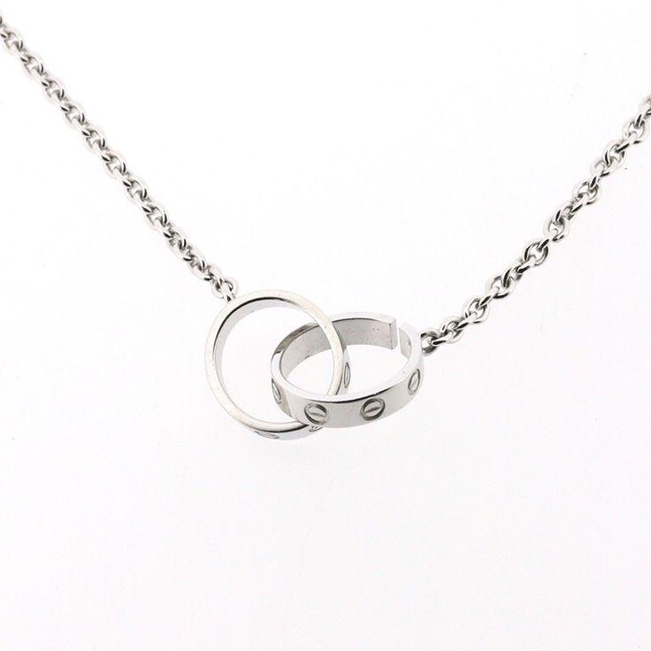 【商品名】カルティエ(Cartier) ラブシリーズ ベビーラブ ネックレス ペンダント K18WG 750 ホワイトゴールド【価格】¥129,000【状態】SA 2、3回使用程度の非常に綺麗な状態の商品です。