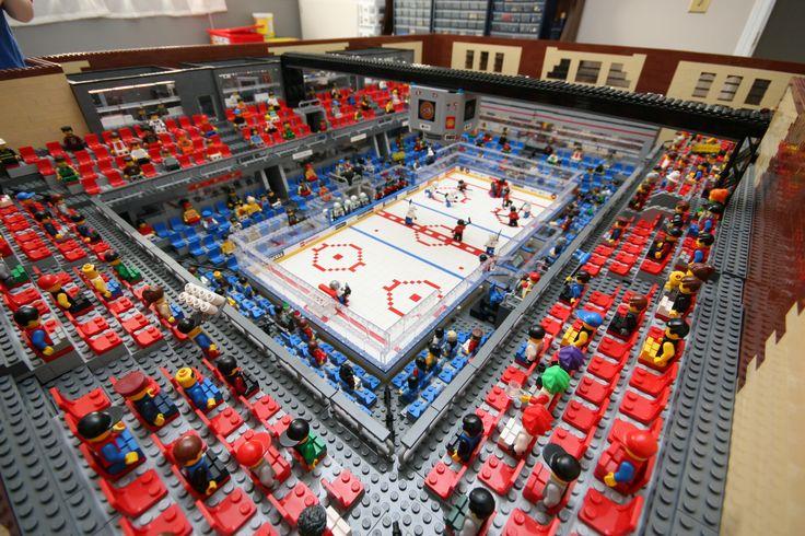 Lego Hockey | HockeyGods Wow, this is impressive!
