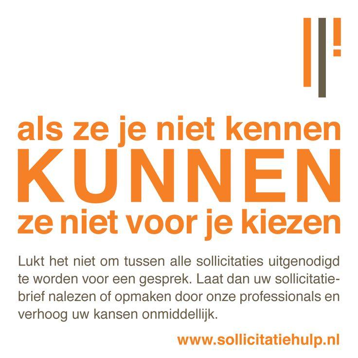 Zorg dat je sollicitatiebrief en cv opvallen zodat je je kansen vergroot om uitgenodigd te worden op een sollicitatiegesprek. Surf snel naar www.sollicitatiehulp.nl en start vandaag!