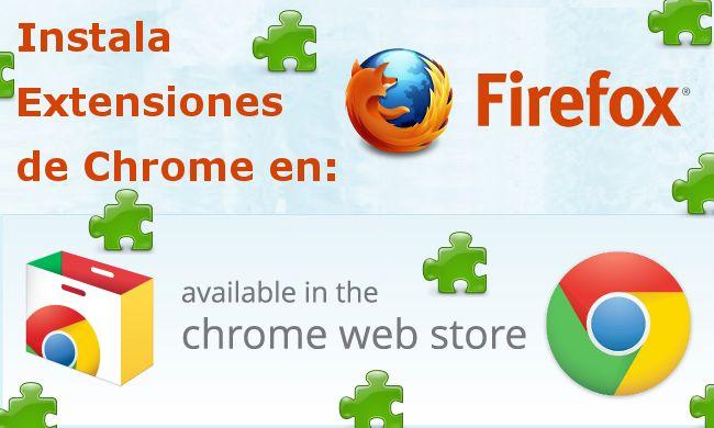 Ya puedes descargar e instalar las extensiones oficiales del navegador Google Chrome en Mozilla Firefox desde la tienda Web Chrome Store. #Navegador #Web #Extensiones #Complemento #Firefox #Chrome #Addon