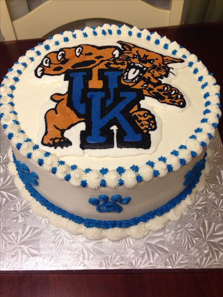 Birthday Cakes Uk ~ Uk university of kentucky wildcats cake logan s graduation party pinterest universities