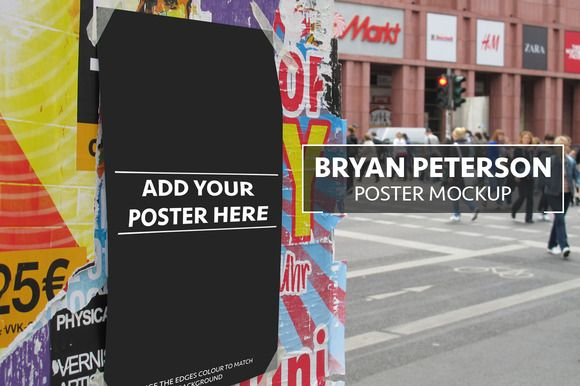 Check out Bryan Peterson Poster Mockup by Xoltic on Creative Market