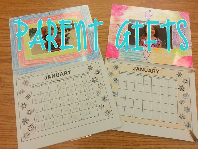 Calendar Ideas For Teachers : Student made calendar using pictures cute idea for parent