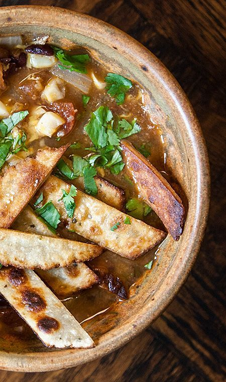 Instant Pot (or not!) Chicken Tortilla Soup