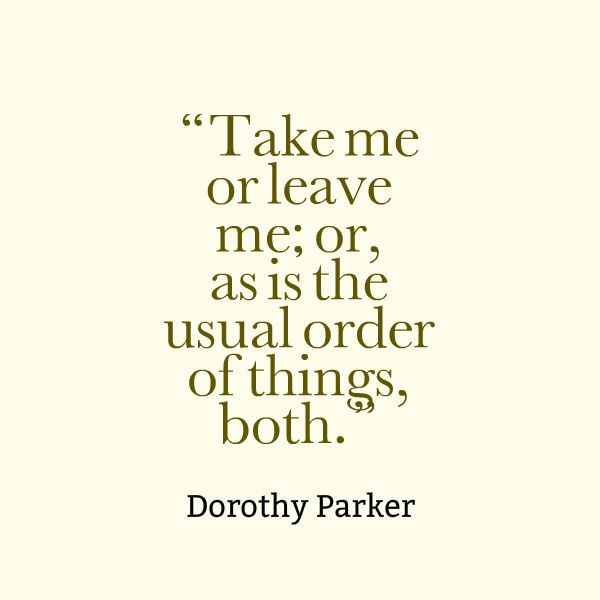 The 25+ best Dorothy parker ideas on Pinterest Surprise me, My - resume by dorothy parker