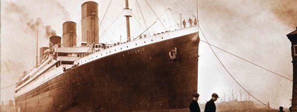 Salen a la luz imágenes inéditas del Titanic en el momento de su marcha