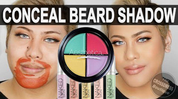 How to Conceal amp Cover Beard Shadow for Crossdressers and Trans Women. Read Article: http://www.crossdressboutique.com/how-to-conceal-and-cover-beard-shadow-for-crossdressers-and-trans-women/