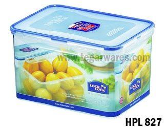 HPL 827:  Size 248   x 180 150 mm 4.5L