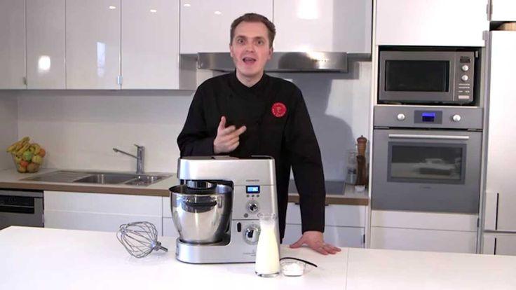 Recette au Cooking Chef :la crème Chantilly par L'Atelier des Chefs