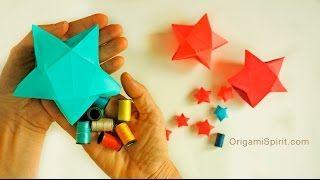 折り紙で作る星の折り方・作り方まとめ!幸せを呼ぶと言われているラッキースターや、クリスマスにも使えるバーンスター☆七夕にキラキラ星も素敵です。ユニット折り紙・五角星・八角星・スターフラワー・小物入れやトレー・立体スター・コースター・箸置き・ギフトBOXなど星がいっぱい!