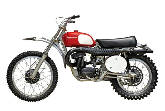 STEVE MACQUEEN 1971 HUSKY 400 CROSS MOTORCYCLE | UP FOR AUCTION