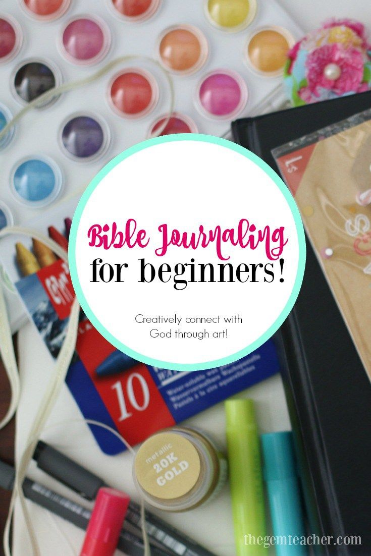 Bible Journaling for Beginners | Bible Journaling ...