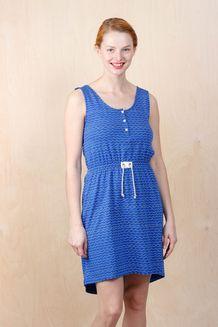 EM Sindra Dress Cobolt Wave