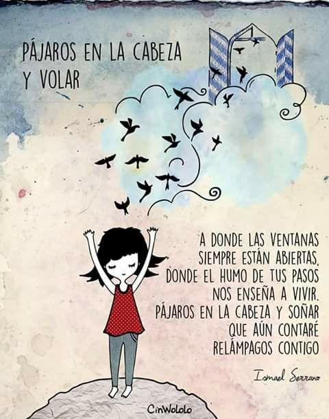 Pájaros en la cabeza y volar... Ismael Serrano