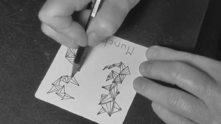 Learn three different ways to approach the drawing of official Zentangle® pattern MUNCHIN by Molly Hollibaugh, CZT™ of Zentangle.com.