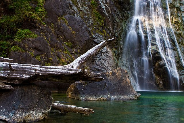 Virgin Falls, Tofino, British Columbia